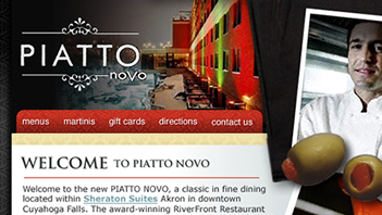 Piatto Novo Website
